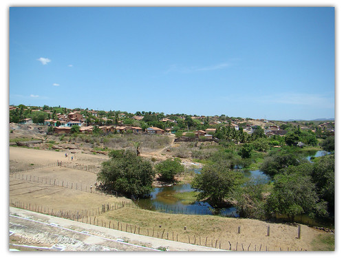 Vazante do Açude de Lima Campos - Ceará