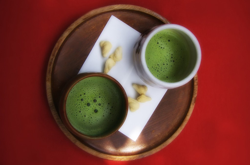 Green Tea & Japanese Sweets