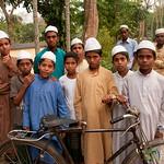 Boys On Way Home from Islamic School - Hatiandha, Bangladesh