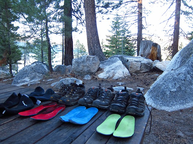 Drying out shoes