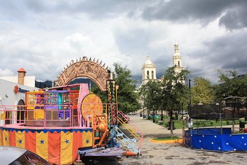 Feria en Santiago