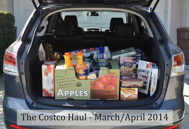 The Costco Haul - March/April 2014
