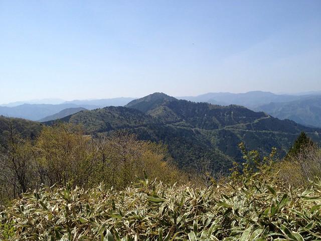 瓢ヶ岳 高賀山方向の眺望