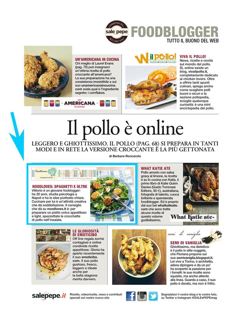 Noodloves su Sale&Pepe Giugno 2014