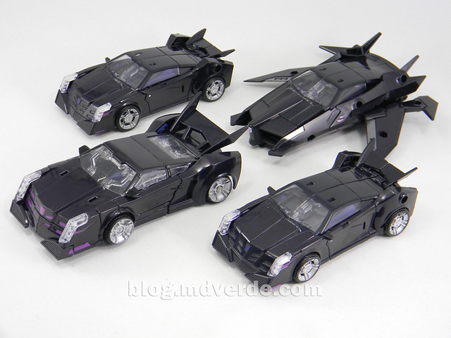 Transformers Vehicon Deluxe - Transformers Prime First Edition - modo alterno vs otros Vehicon