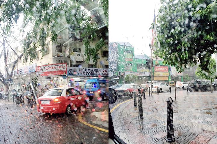 raining kl