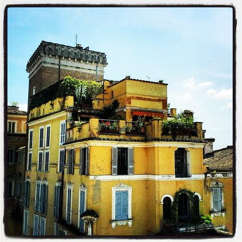 Roma dal foro di Traiano