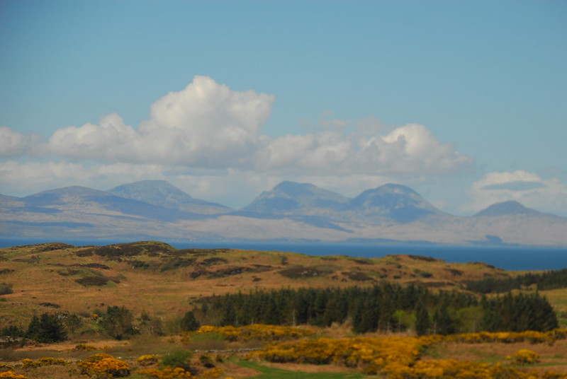 Paps of Jura from Gigha