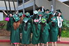 University of Hawaii at Manoa students celebrated at the campus' commencement ceremony at the Stan Sheriff Center on May 17, 2014.