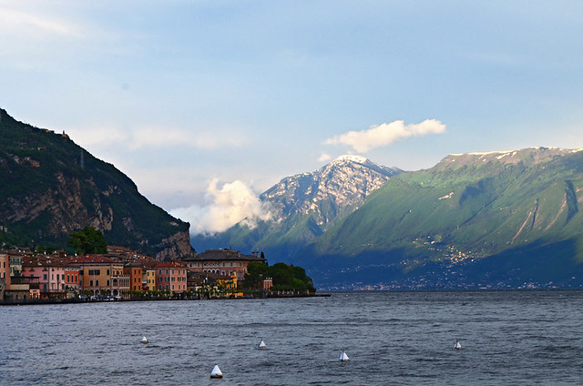 View from Hotel Baia d'Oro, Gargnano, Lake Garda, Italy