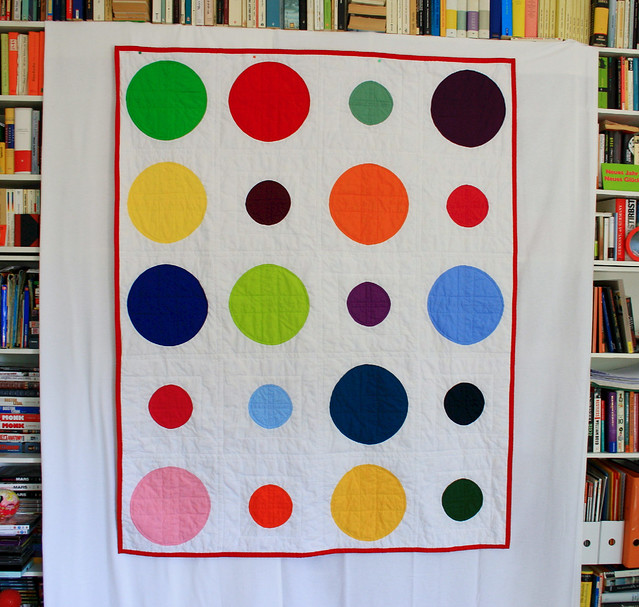 color dotty hanging