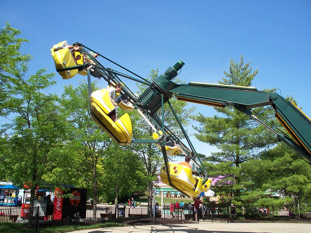 Kings Island - Shake, Rattle, and Roll