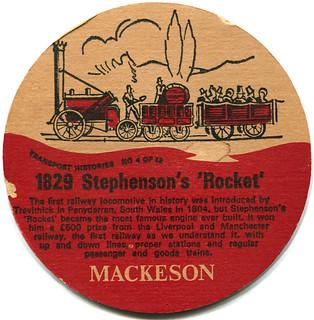 Leicester - Mackeson Beer (Reverse)