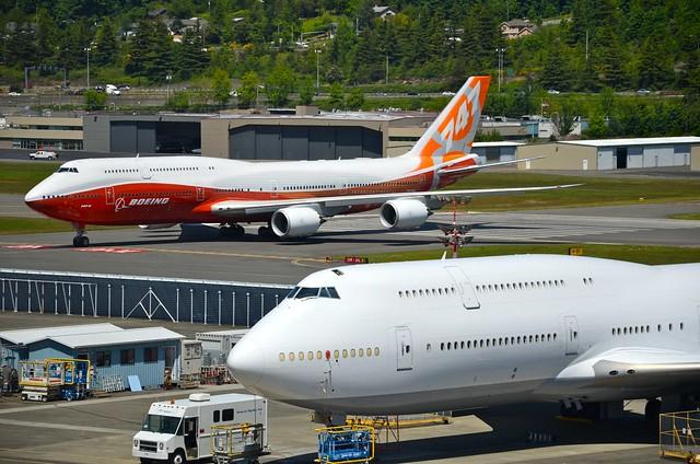 Lufthansa Boeing 747-8I D-ABYE/N6067U RC021