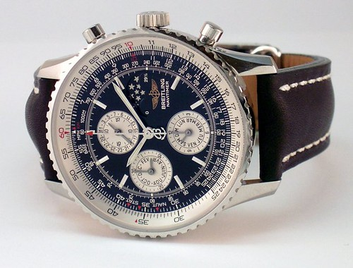 Photo:Breitling Navitimer Olympus Blue By:kitchener.lord