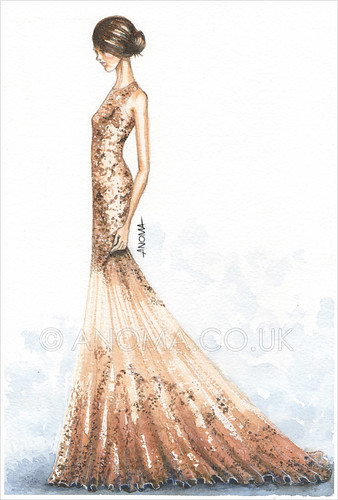 Fashion Illustration: Alexander McQueen- Resort 2012