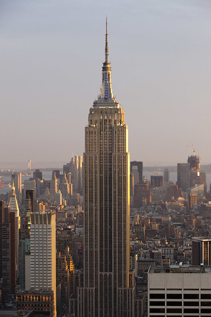 empire state building sunset - photo #18