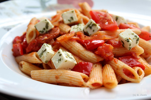 Penne all'arrabiata...