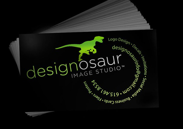 Designosaur Image Studio card
