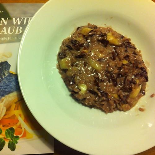 Risotto Con Radicchio Di Treviso Mit Barolo @ Le Gourmand, Private Home Fine Dining