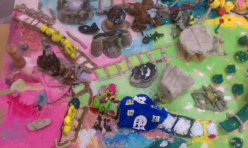 スタジオクラ子ども絵画造形教室の特色