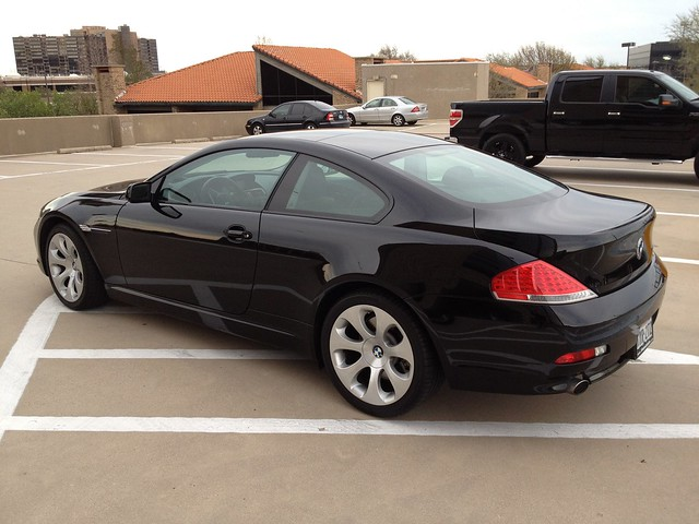 2006 Bmw 650i Black Black Tx