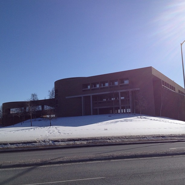 Loussac Library, where Anchorage Assembly chambers are located.