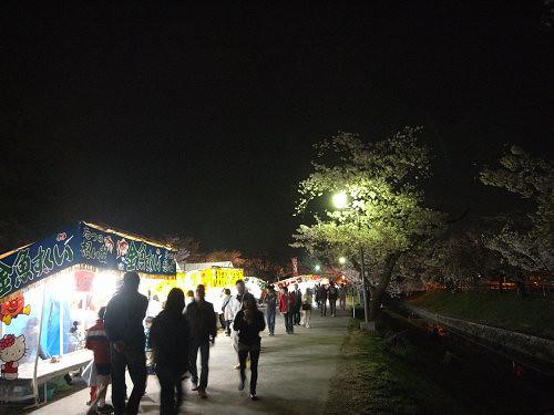 夜桜2012@大中公園(大和高田市)-01