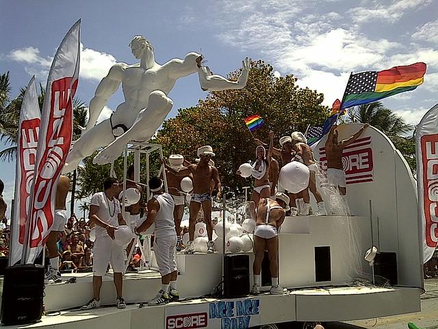 6937503536 b8eff47229 z South Beach Gay Pride parade