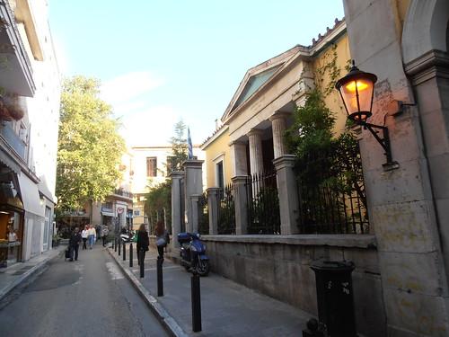 Athens: Street in Plaka