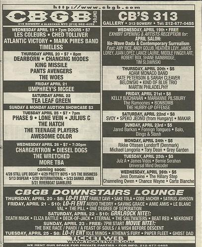 04/20-26/06 CBGB Ad