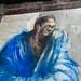 Homme bleu par Paul Bloas (mur est, visage) ©°WYZ°