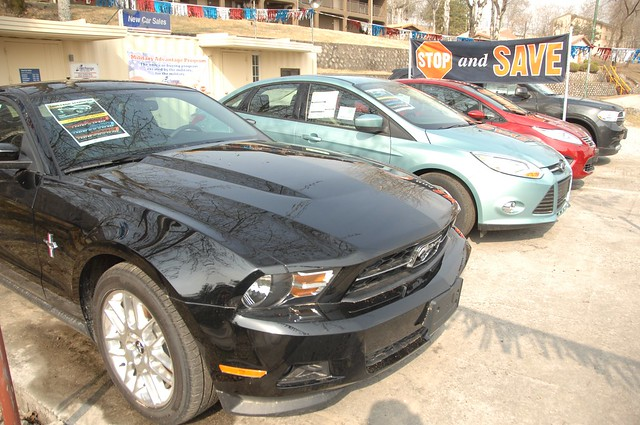 New Car Sale Grand Re-open , Camp Stanley - 04 APR 12