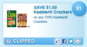 Keebler Crackers  Coupon