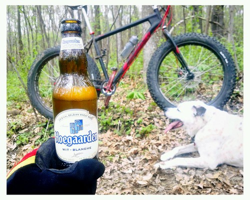 A beer. A dog. A fat bike. by unclefuzzy_ss