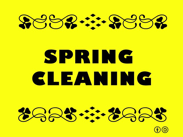 Buzzword Bingo: Spring Cleaning