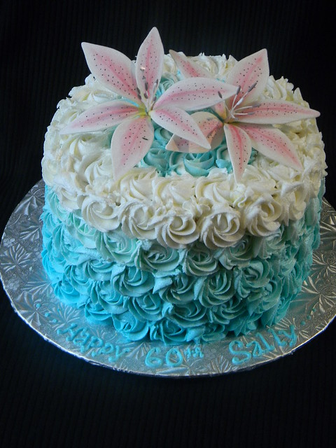 Cake Designs No Fondant : Pin 60th Birthday Cake Ideas For Women Men As Cakes Images ...