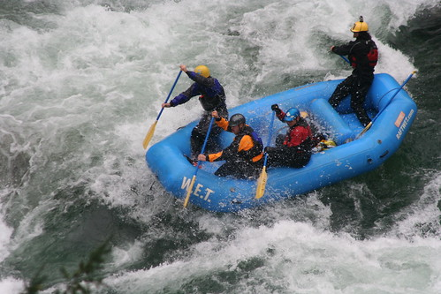 Cal Salmon rafting