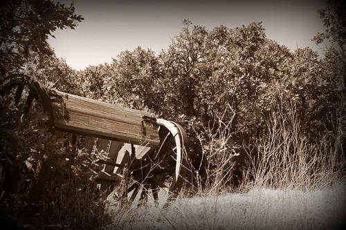 Old Pioneer Handcart