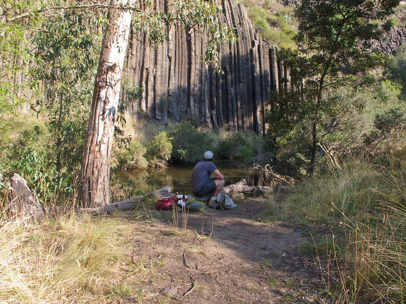 Picnic at The Organ Pipes National Park