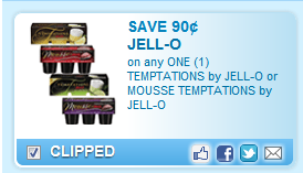 $0.90 Off 1 Jell-O Temptations Or Mousse Coupon