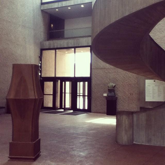 Everson Museum sculpture court