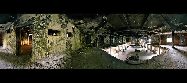 360° panorama (abandoned theater) / 360°-os panoráma egy elhagyatott színházban