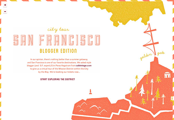 Calivintage + Fossil SF城市指南