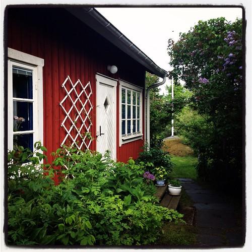 Mina föräldrars hus i Öregrund