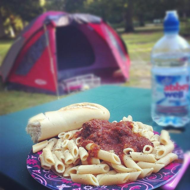 Yummy camp dinner