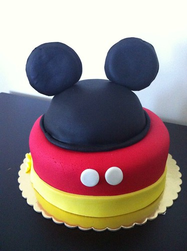 Mickey mouse pasta by l'atelier de ronitte
