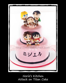 Norie's Kitchen - Attack on Titan Cake