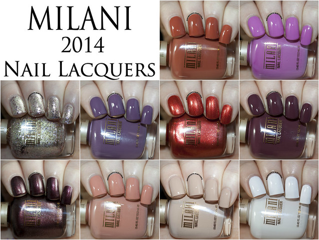 Milani 2014 Nail Lacquers