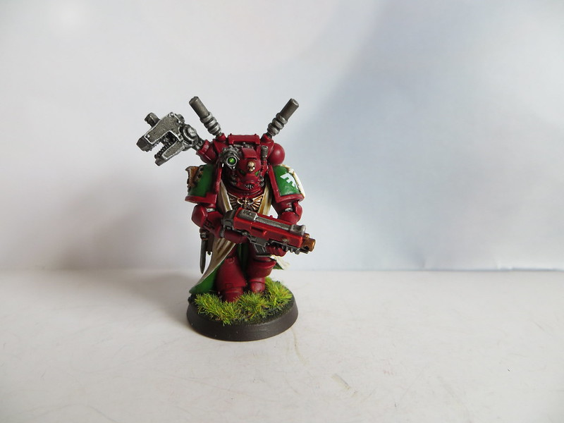 Techmarine with Power Field Generator